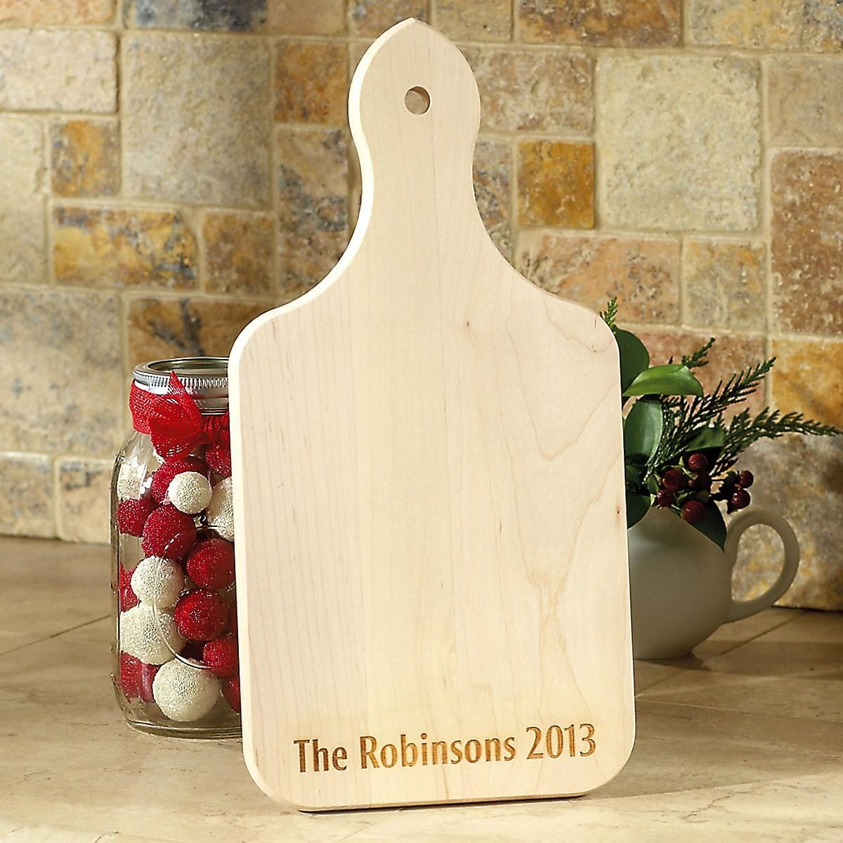 Solid Maple Engraved Wood Cutting Board