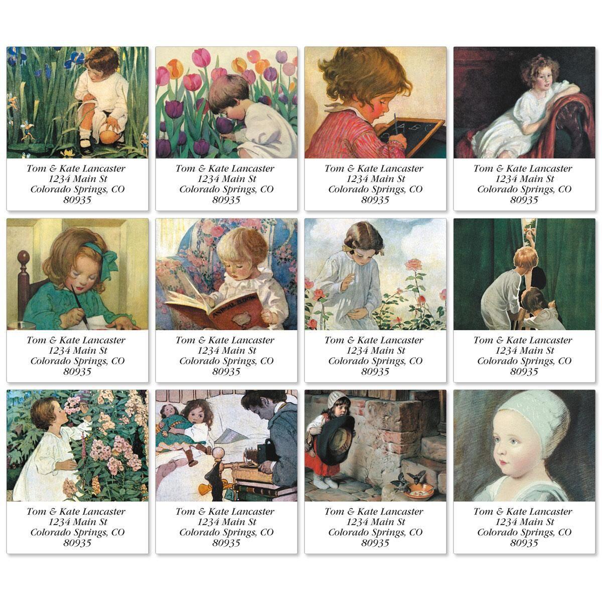 Storybook Children Select Address Labels  (12 designs)