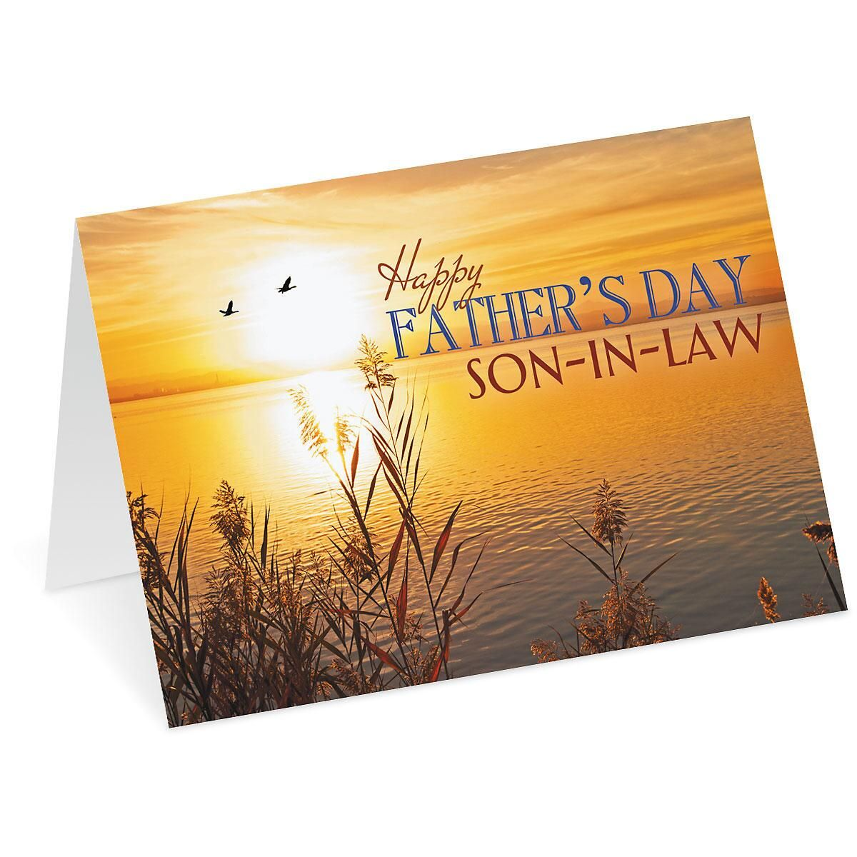 Sunrise Son-in-Law Father's Day Card