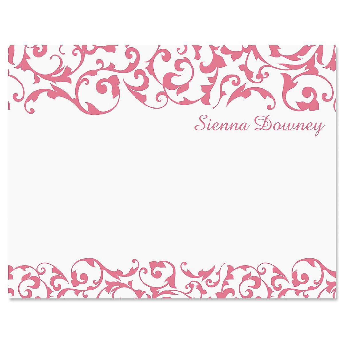 Twist Personalized Note Cards