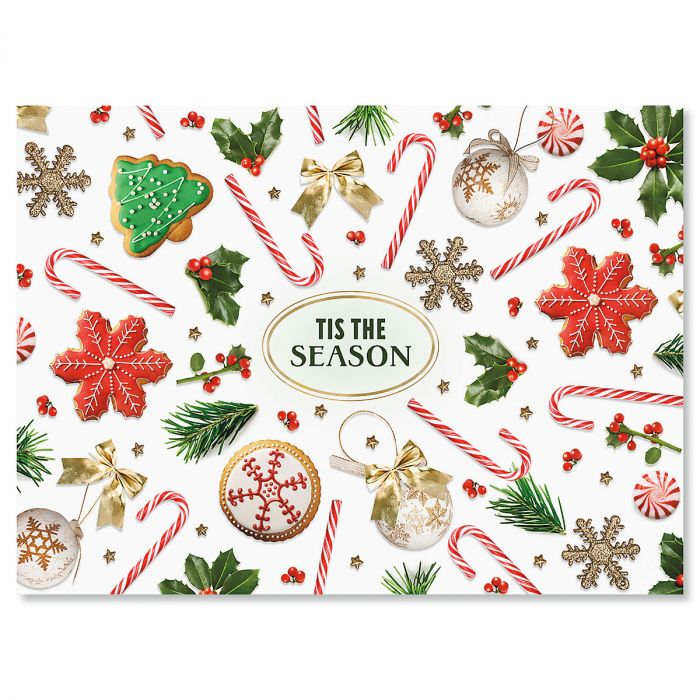 Everything Jolly Nonpersonalized Christmas Cards - Set of 18