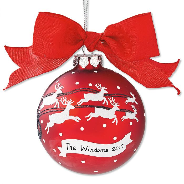 Family Personalized Christmas Ornaments