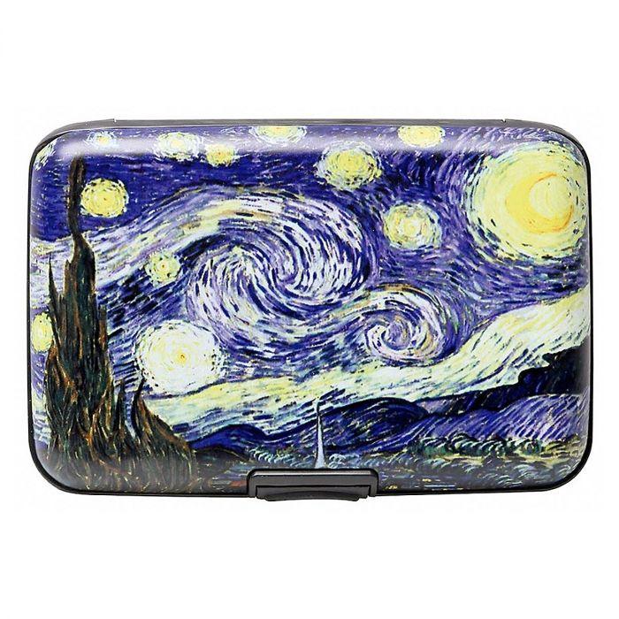 Starry Night Fine Art Armored Wallet
