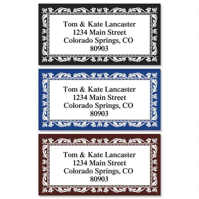 Adornment Border Address Labels