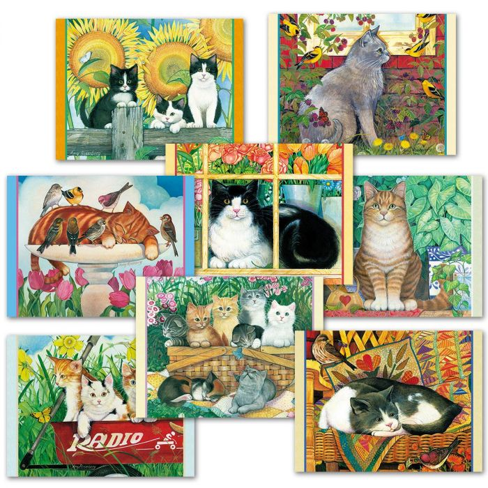 Amy's Cats Note Cards Value Pack