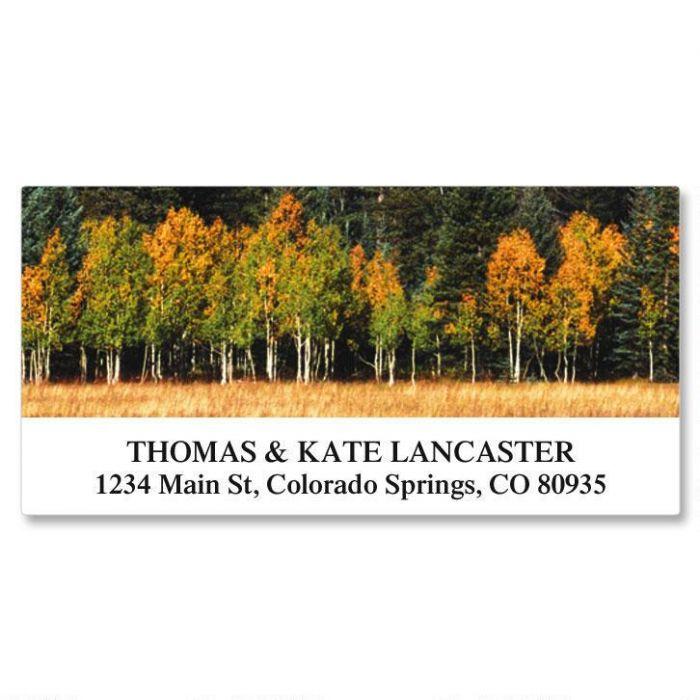 Autumn Colors Deluxe Address Labels  (24 Designs)