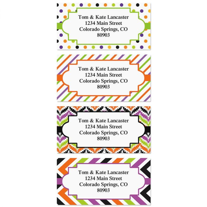 Enchanted Border Address Labels  (4 Designs)