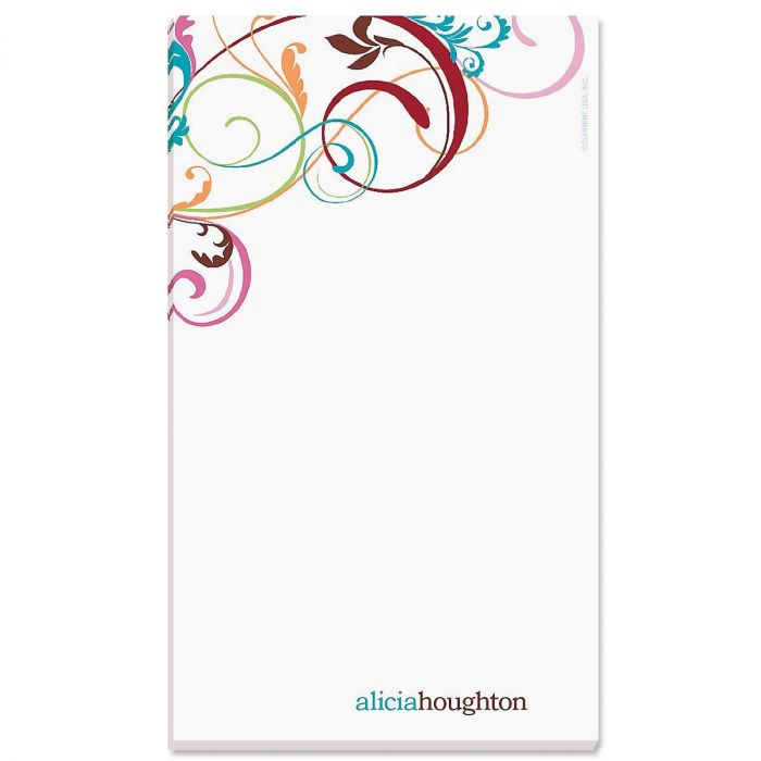 Fantasia Personalized Notepads