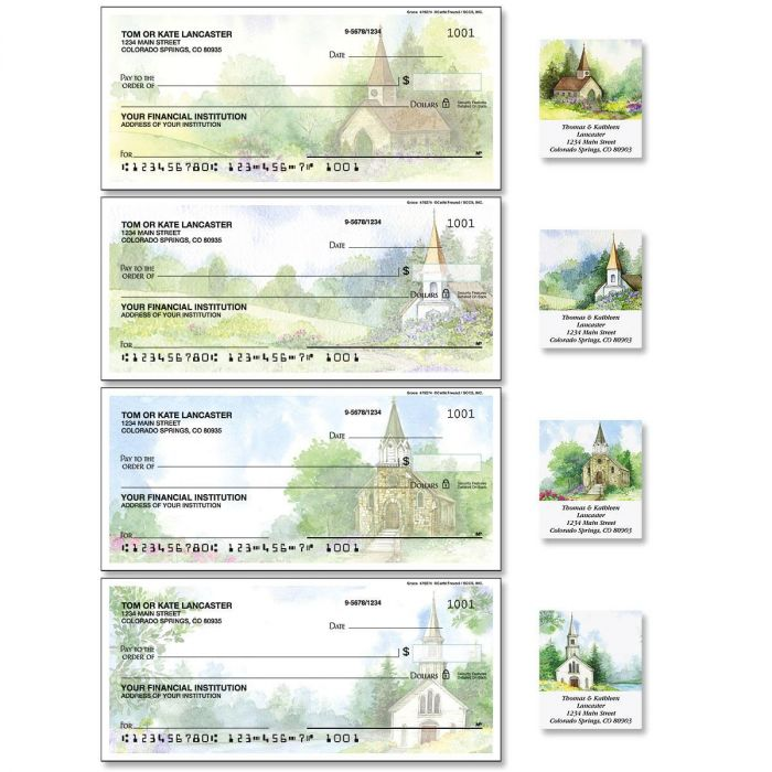 Grace Single Checks with Matching Labels
