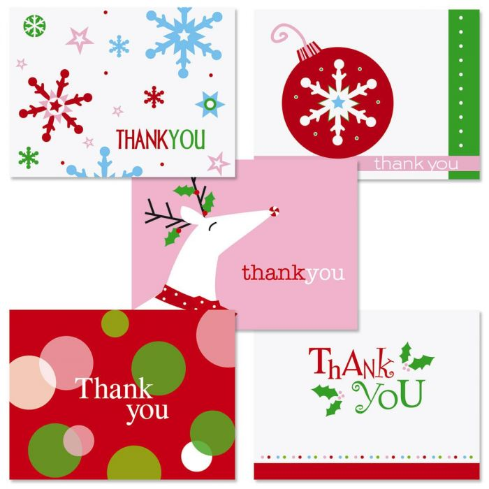 Holiday Thank-You Note Value Pack