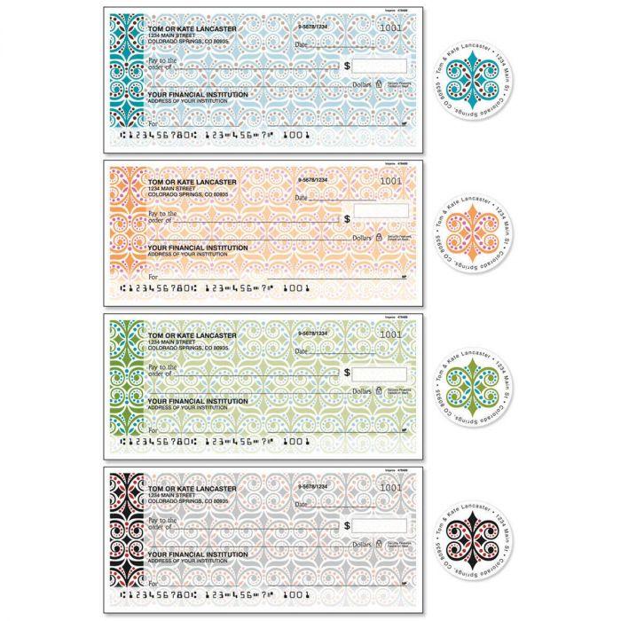 Improv Single Checks with Matching Address Labels