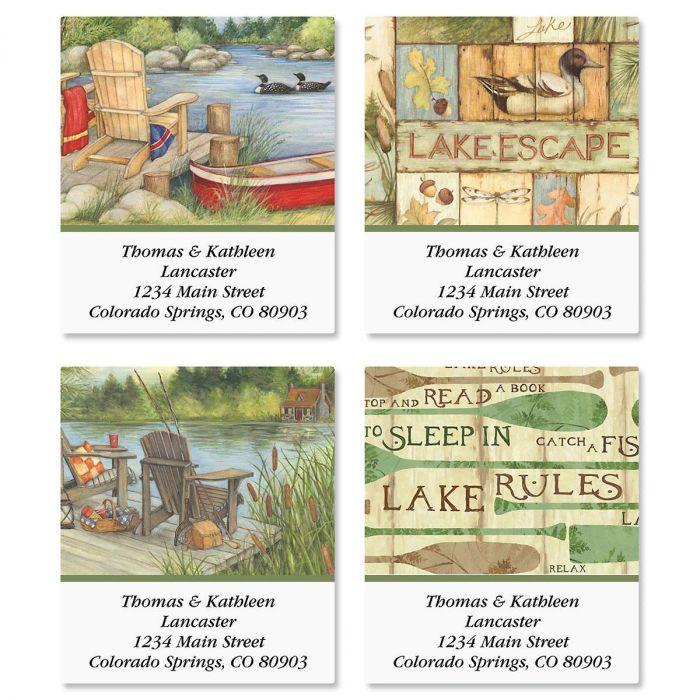 Lakeside Select Address Labels  (4 Designs)
