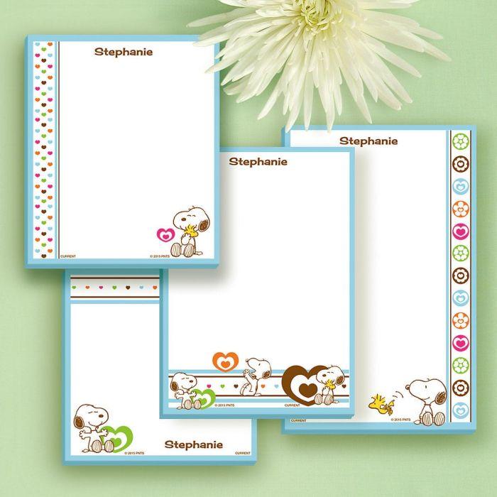 Love PEANUTS® Notepad Set