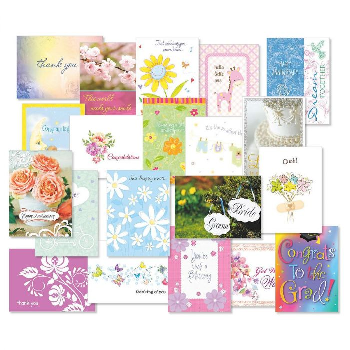 Mega All Occasion Cards Value Pack