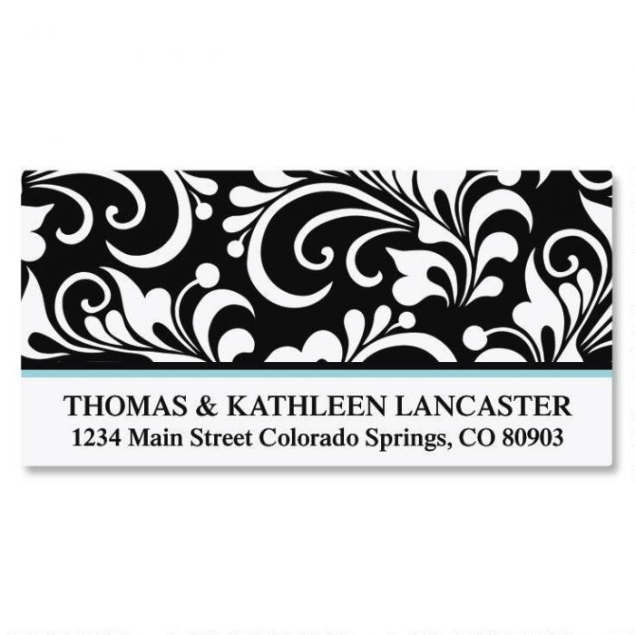 Opulent Deluxe Address Labels