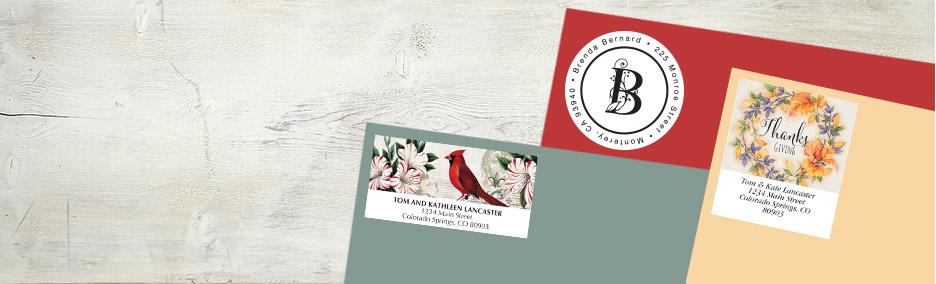 address label designs plain to pretty current catalog