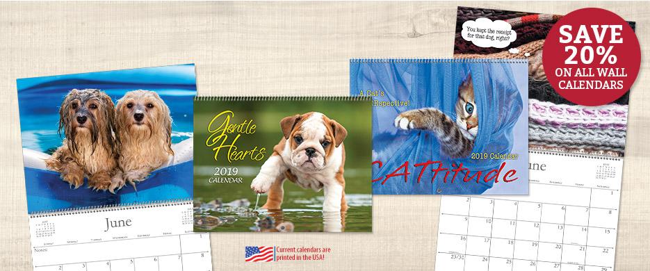 Shop Wall Calendars at Current Catalog