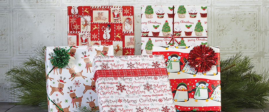 Christmas Wrapping Paper Accessories Current Catalog