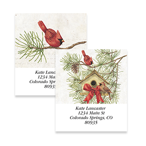Shop Christmas Address Labels