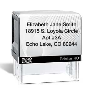 Shop Address Stamps at Current Catalog
