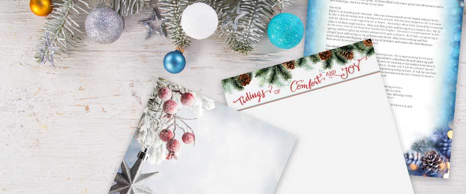 Shop Christmas Letter Paper at Current Catalog