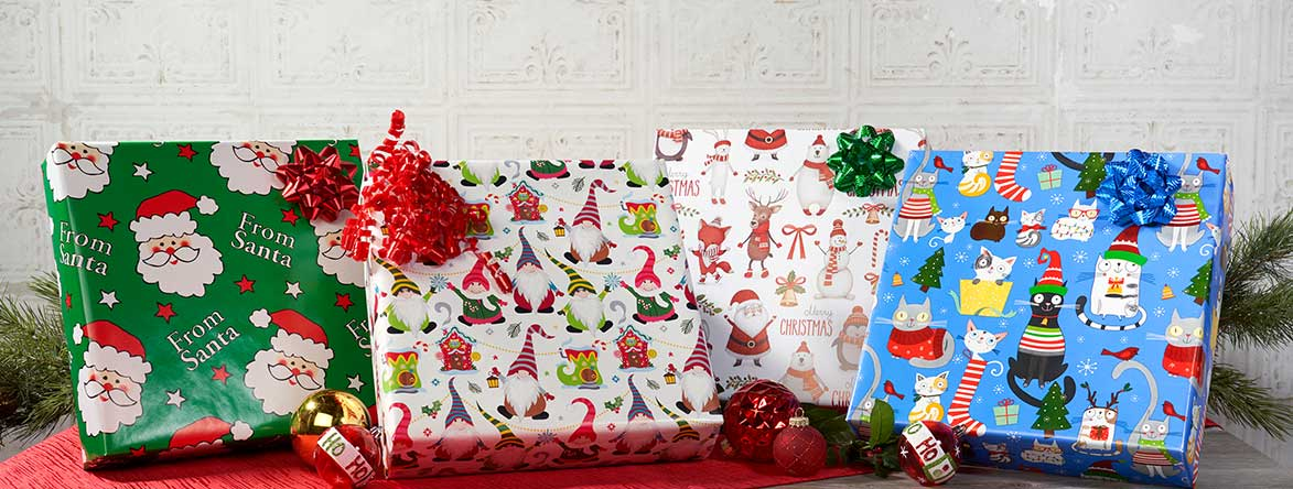 Shop New Christmas Wrap at Current