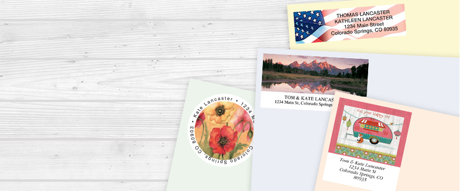 Shop Address Labels by Design at Current Catalog