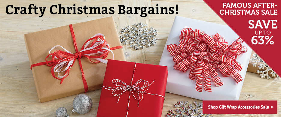 Shop Christmas Gift Wrap Accessories Sale at Current Catalog