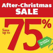 Shop After-Christmas Sale