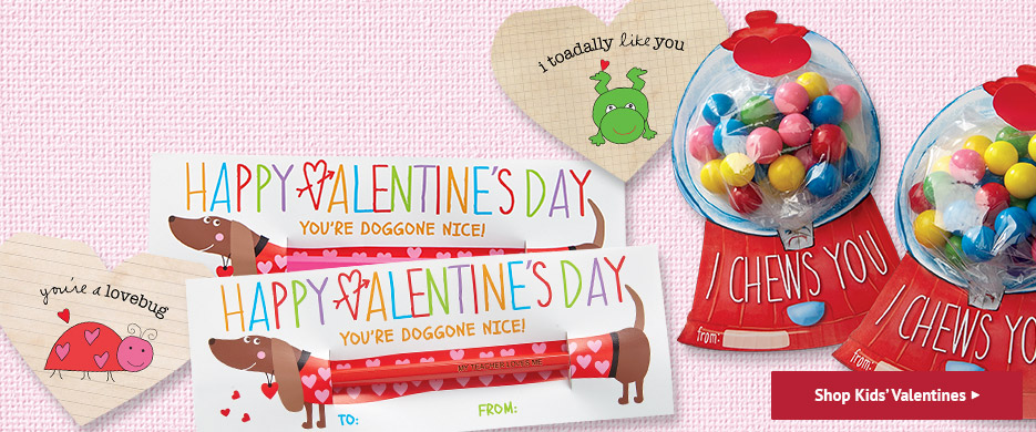 Shop Kids' Valentine's Day Cards at Current Catalog