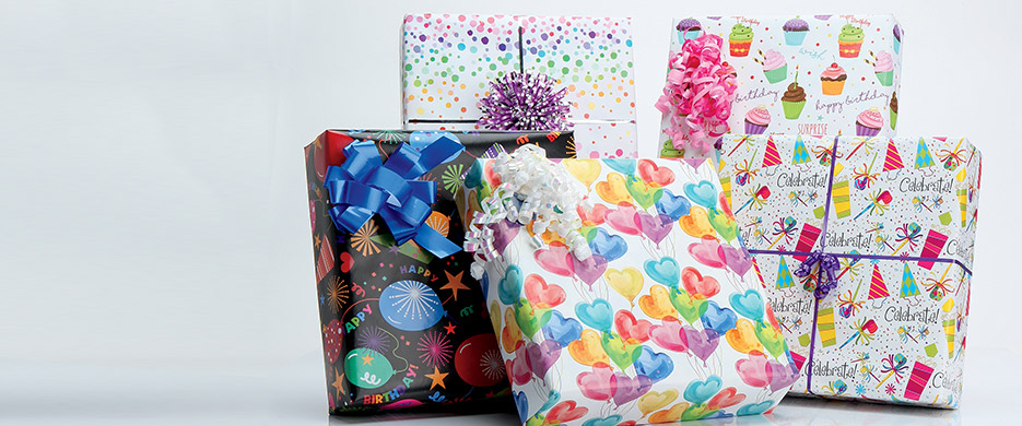 Wrapping Paper Gift Wrap Bags