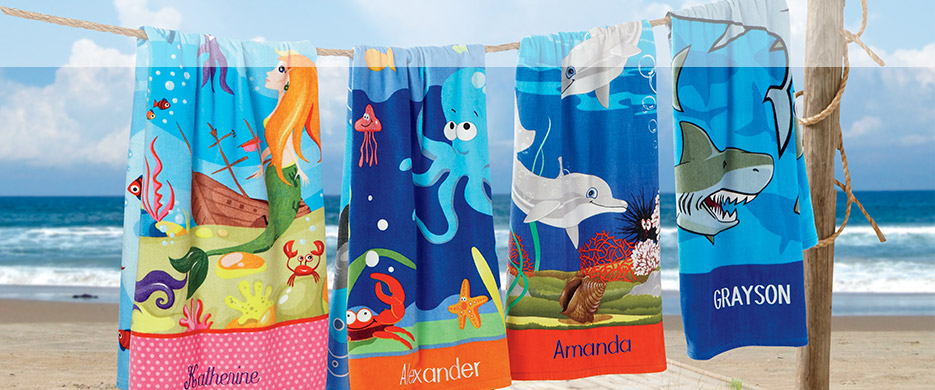 Shop Beach Towels for Kids at Current Catalog