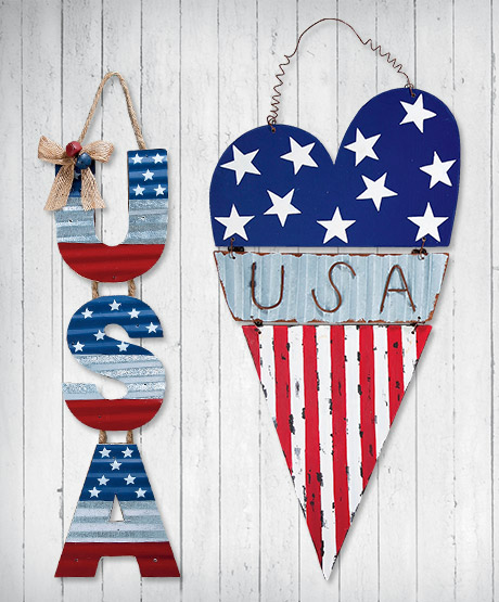 Shop Patriotic Decor at Current Catalog
