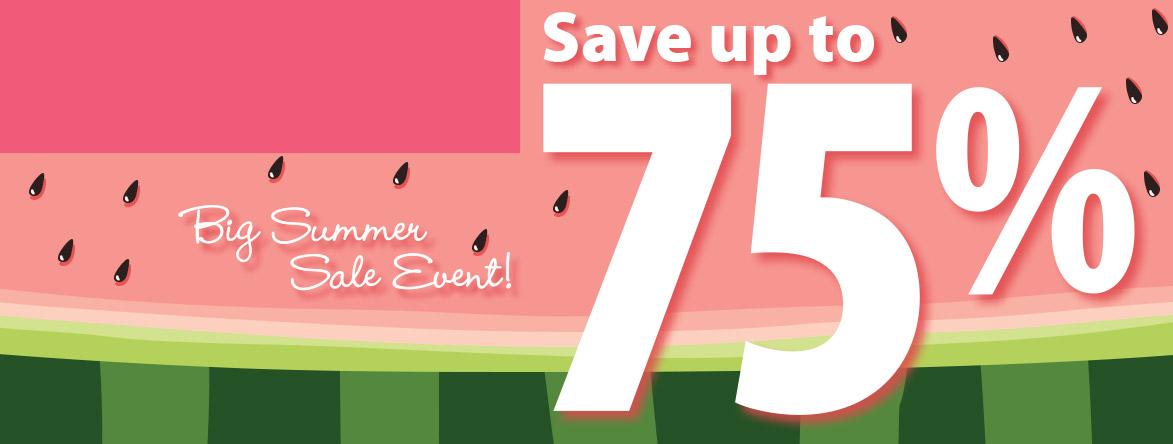 Shop Big Summer Sale Event at Current Catalog