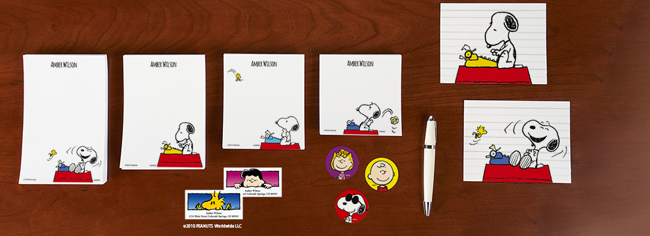 Shop PEANUTS® Stationery at Current Catalog