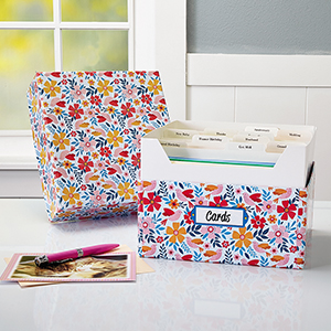Shop Card Organizer Boxes at Current Catalog
