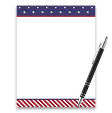 Shop American Patriotic Stationery at Current Catalog