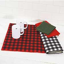 Shop Tabletop & Kitchen Linens at Current Catalog