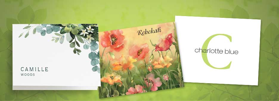 Shop Personalized Notecards at Current Catalog