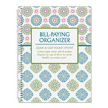 Shop Bill Paying Organizers at Current Catalog