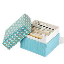 Shop Card Organizer Boxes at Current Catalog