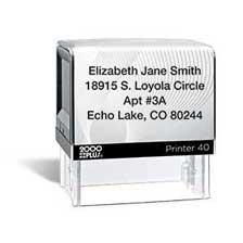 Shop Address Stamps at Current Catalog